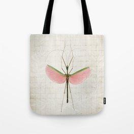 Pink Walking Stick Tote Bag