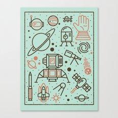 Cosmic Frontier  Canvas Print