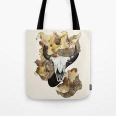 Buffalo Skull by carographic Tote Bag