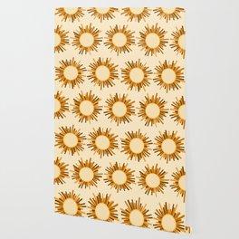 Art Deco Starburst Wallpaper