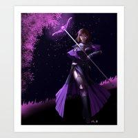 Ceri Battle Sorceress Art Print