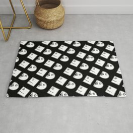 Chasing Funny Cartoon Pattern Rug