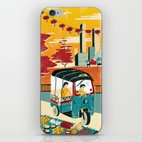 thailand iPhone & iPod Skins featuring Bangkok, Thailand by Sam Brewster