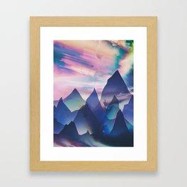 Opalescent Framed Art Print