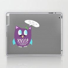 Sleepy Owl Laptop & iPad Skin
