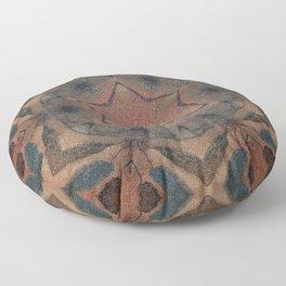 Bushfire Gum Medallion 9 Floor Pillow