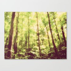 Untamed Forest Canvas Print