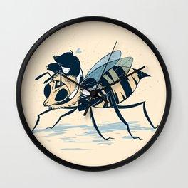 Polly Pollinator  Wall Clock