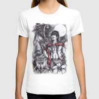 dracula T-shirts featuring Dracula by Furiarossa