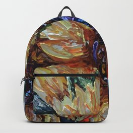 Ah, Sunflower by Lena Owens Backpack