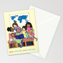 Read Together Stay Together Stationery Cards