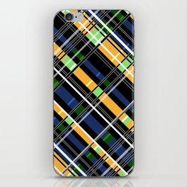 Striped pattern iPhone Skin