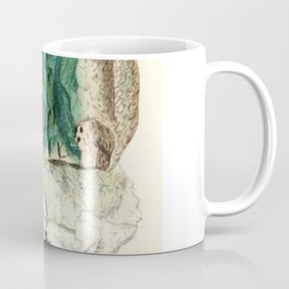 Vintage Mineralogy Illustration Coffee Mug