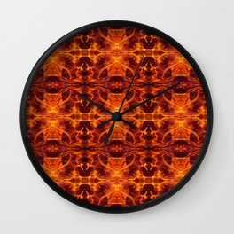 28. Fire of Katniss Everdeen Wall Clock
