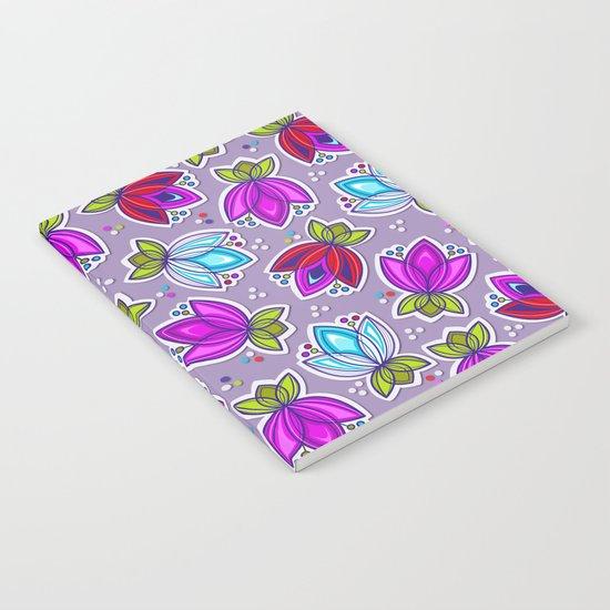 Pop Off Floral Notebook