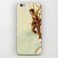viria iPhone & iPod Skins featuring pirate leo by viria