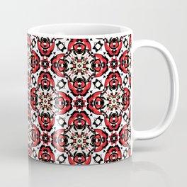 Oriental Damask Christmas  Coffee Mug