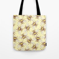 bees Tote Bags featuring Bees! by Good Sense