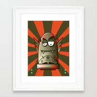 the fault Framed Art Prints featuring Fault 45 01 (its not his fault) by Face Leakage