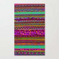 tribal Canvas Prints featuring Tribal by Aimee St Hill