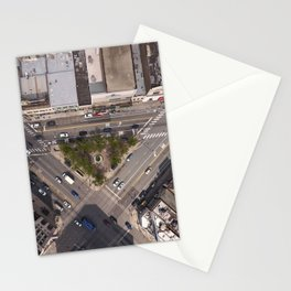 Division Blue Line Stationery Cards