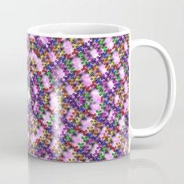 Kaleidoscope Finger Spinners Mandala Pattern Coffee Mug