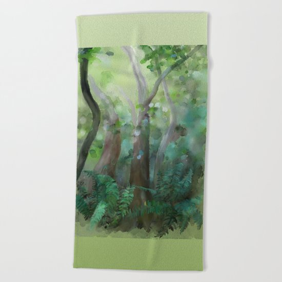 Jungle Beach Towel