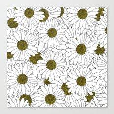 Daisy Yellow Canvas Print
