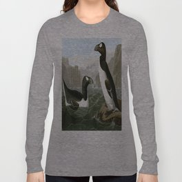 Pinguinus Impennus Long Sleeve T-shirt