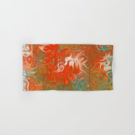 As Luck Would Have It, Abstract Art Hand & Bath Towel