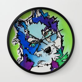 Piper the Husky (Limited Time Offer) Wall Clock
