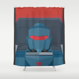 Pipes MTMTE Shower Curtain