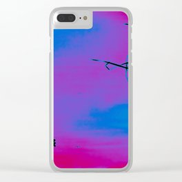 UNNATURALLY  NATURAL Clear iPhone Case