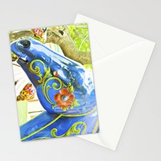 Horse quaint and fun. Stationery Cards