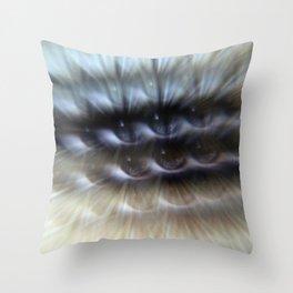 EYE AM Multiplicity Throw Pillow