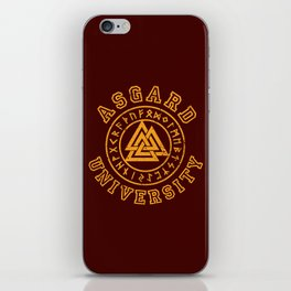 Asgard University iPhone Skin