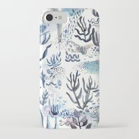 under the sea iPhone & iPod Cases featuring Under the Sea by jenna lechner