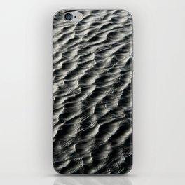Black water iPhone Skin