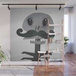 Vintage Skeleton Wall Mural