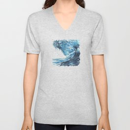 I'll Crash And Fall Everyday For You To See My Beauty Unisex V-Neck
