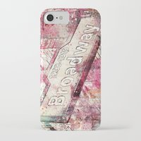 broadway iPhone & iPod Cases featuring Broadway by LebensART