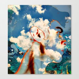 The Abstracted Man Canvas Print