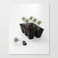Eco Bulb 6 pack Canvas Print