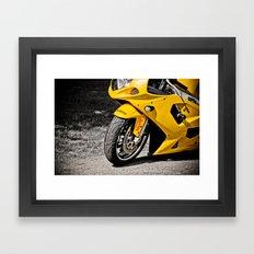 Suzuki GSXR-600  Framed Art Print