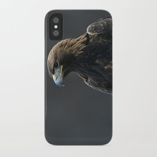 GOLDEN EAGLE PORTRAIT 1 iPhone Case