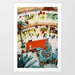 close to Christmas   Art Print