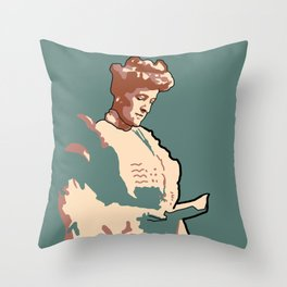 Edith Wharton Throw Pillow
