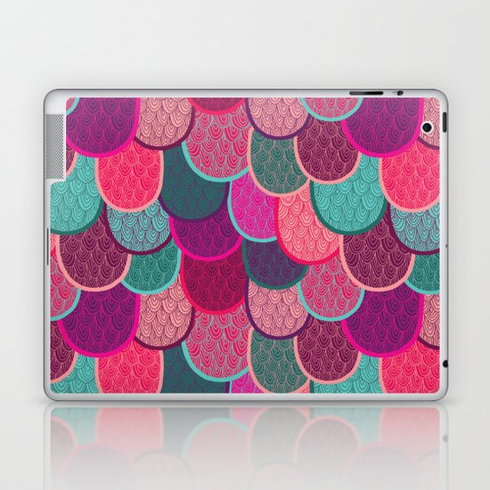 Fish Scales and Mermaid Tales Laptop & iPad Skin