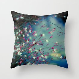 Monet's Dream Throw Pillow