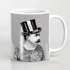 Tattooed Victorian Man Mug